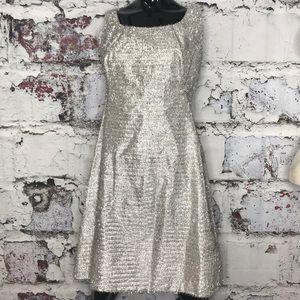 Vintage 60's plastic tinsel dress